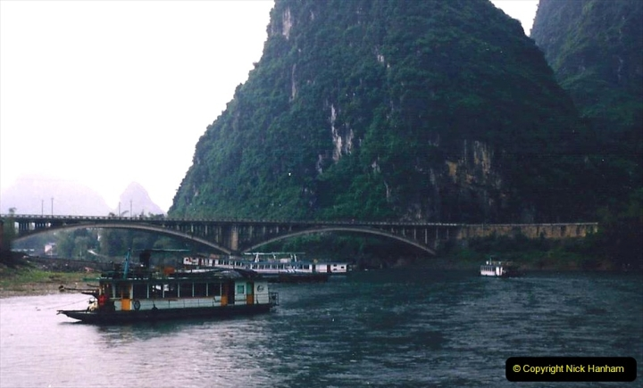 China 1993 April. (107) On the Li or Lijiang River  to Yangshuo. 107