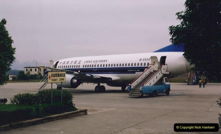 China 1993 April. (131) By air to Guangzhou. 131