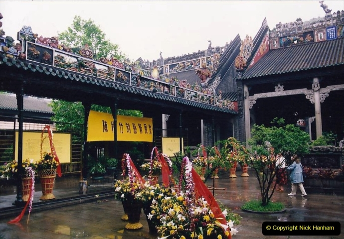 China 1993 April. (148) Temple in Guangzhou. 142