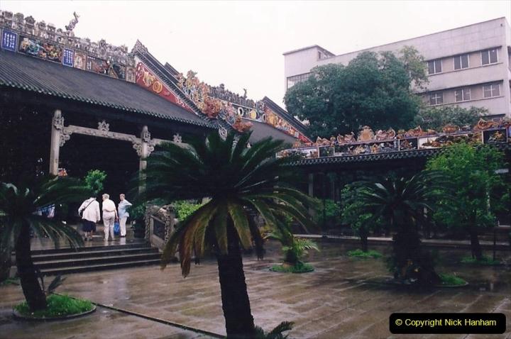 China 1993 April. (152) Temple in Guangzhou. 152