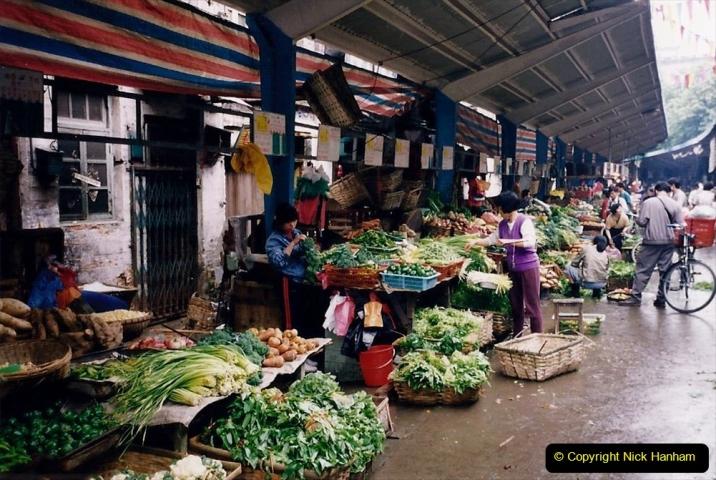 China 1993 April. (157) Guangzhou Market. 157
