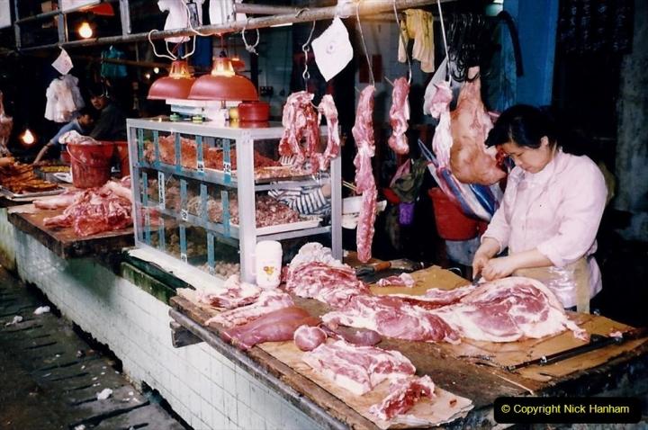 China 1993 April. (160) Guangzhou Market. 160