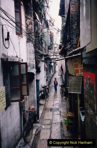 China 1993 April. (174) Streets of Guangzhou. 174