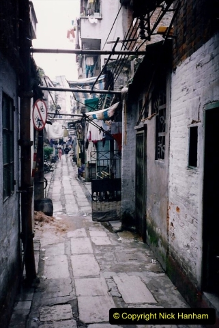 China 1993 April. (175) Streets of Guangzhou. 175