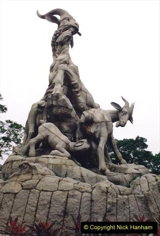 China 1993 April. (181) Yue Xiu Park Guangzhou. 181