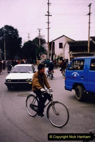 China 1993 April. (49) Xain Market.  049