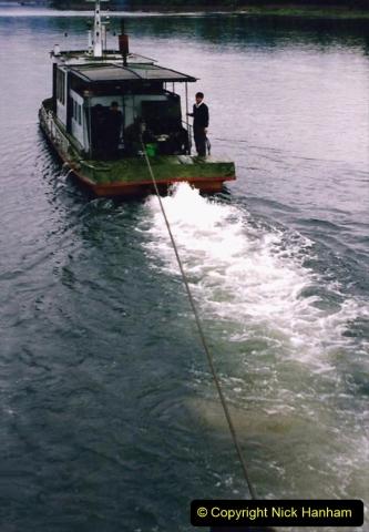 China 1993 April. (64) On the Li or Lijiang River  to Yangshuo. 064