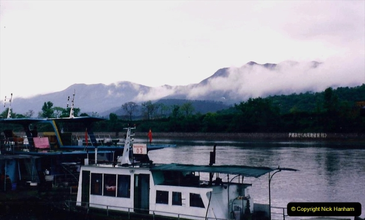 China 1993 April. (66) On the Li or Lijiang River  to Yangshuo. 066