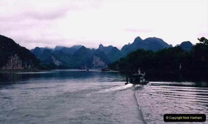China 1993 April. (68) On the Li or Lijiang River  to Yangshuo. 068