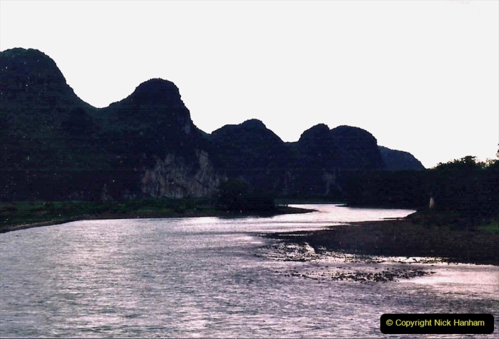 China 1993 April. (70) On the Li or Lijiang River  to Yangshuo. 070