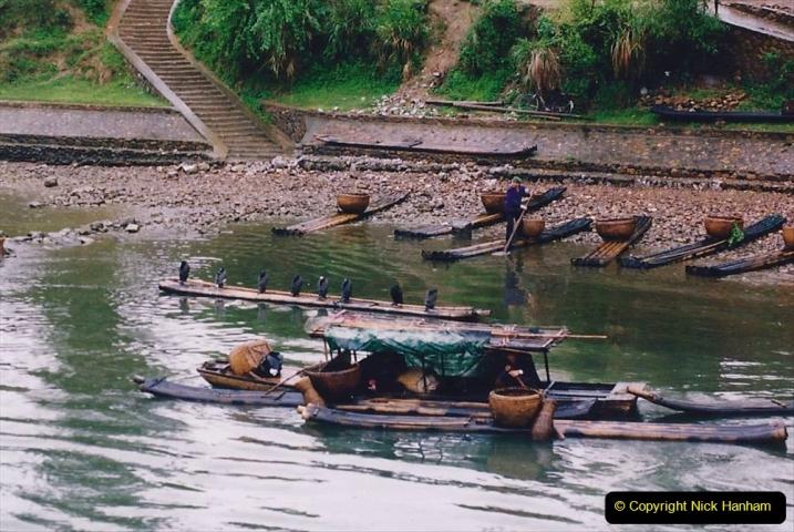 China 1993 April. (71) On the Li or Lijiang River  to Yangshuo. 071
