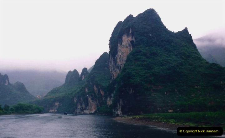 China 1993 April. (78) On the Li or Lijiang River  to Yangshuo. 078