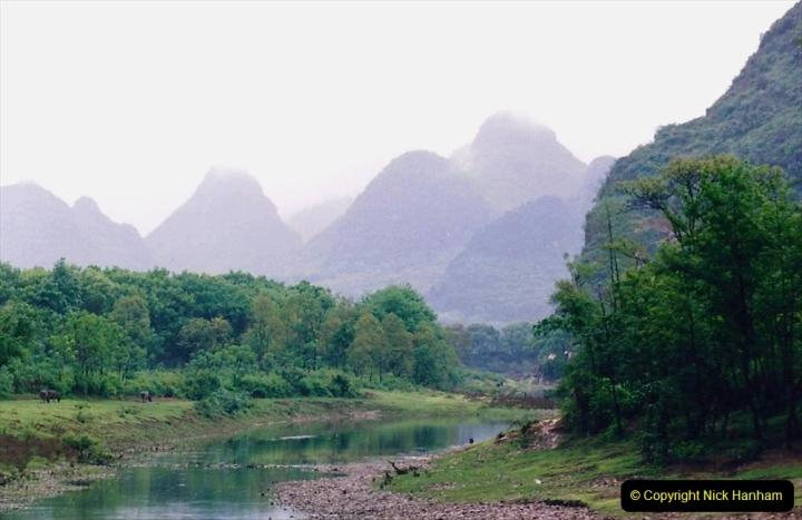 China 1993 April. (79) On the Li or Lijiang River  to Yangshuo. 079