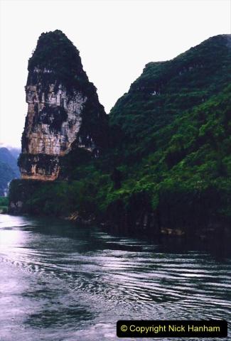 China 1993 April. (86) On the Li or Lijiang River  to Yangshuo. 086