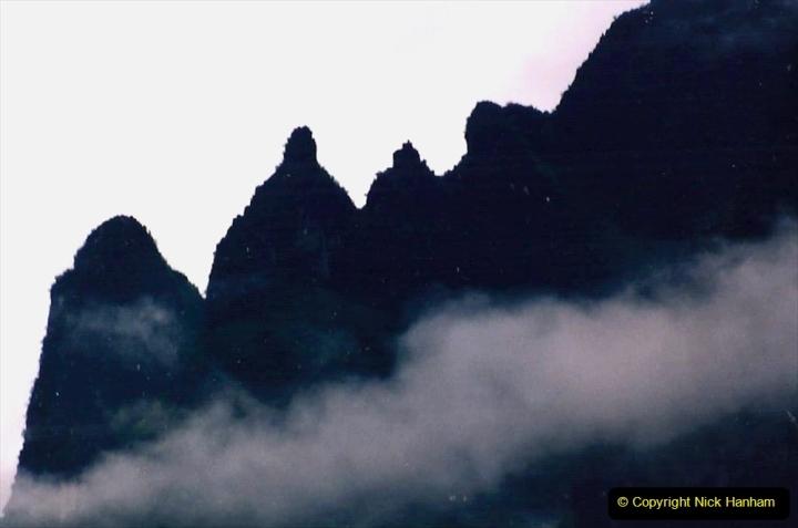 China 1993 April. (92) On the Li or Lijiang River  to Yangshuo. 092
