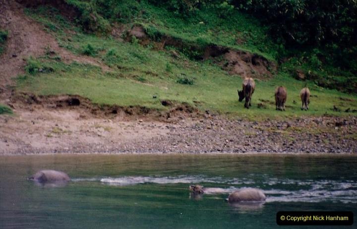 China 1993 April. (98) On the Li or Lijiang River  to Yangshuo. 098