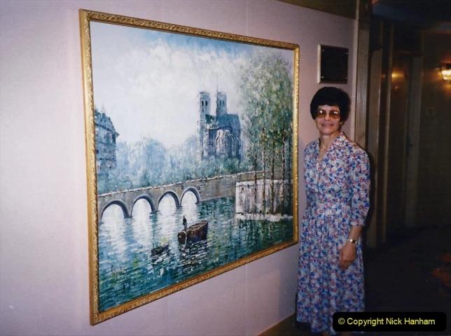 China 1993 April China into Hong Kong. (11)  Our Hong Kong Hotel. 011