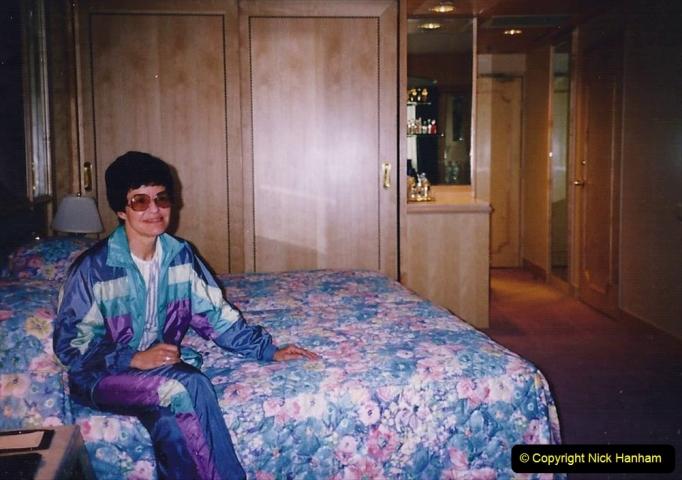 China 1993 April China into Hong Kong. (12)  Our Hong Kong Hotel. 012