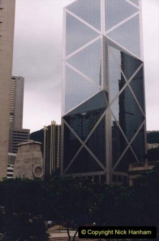 China 1993 April China into Hong Kong. (121) Hong Kong. 121