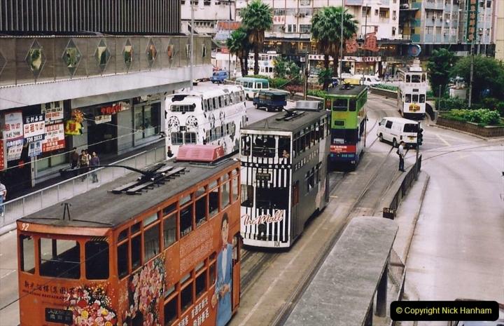 China 1993 April China into Hong Kong. (151) Hong Kong. 151