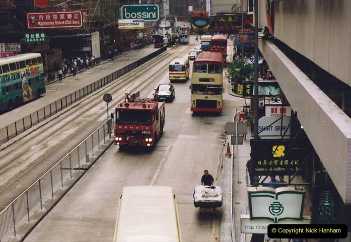 China 1993 April China into Hong Kong. (153) Hong Kong. 153