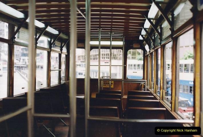 China 1993 April China into Hong Kong. (156) Hong Kong. 156