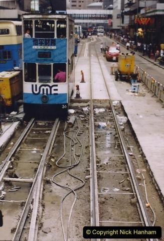 China 1993 April China into Hong Kong. (157) Hong Kong. 157