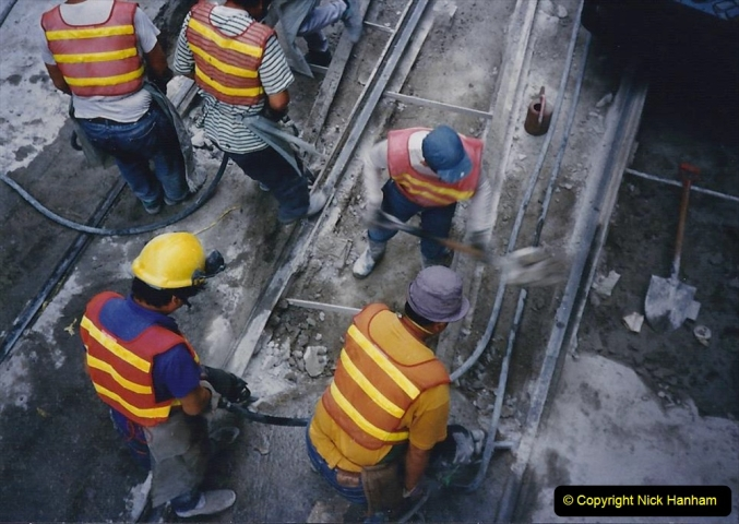China 1993 April China into Hong Kong. (158) Hong Kong. 158