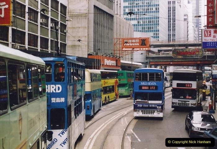 China 1993 April China into Hong Kong. (159) Hong Kong. 159
