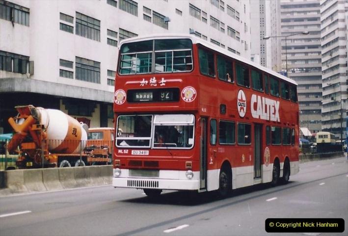 China 1993 April China into Hong Kong. (161) Hong Kong. 161