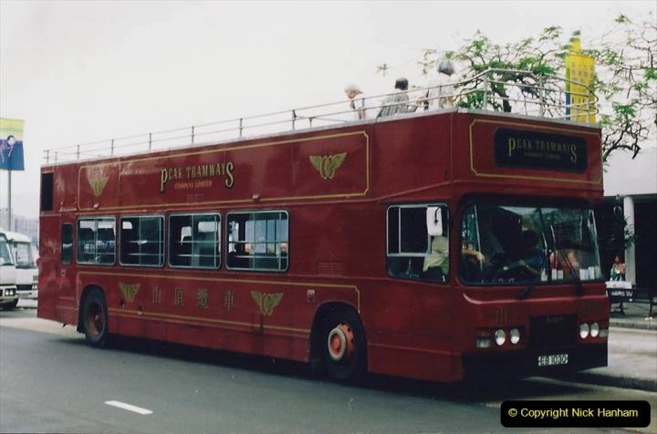 China 1993 April China into Hong Kong. (162) Hong Kong. 162