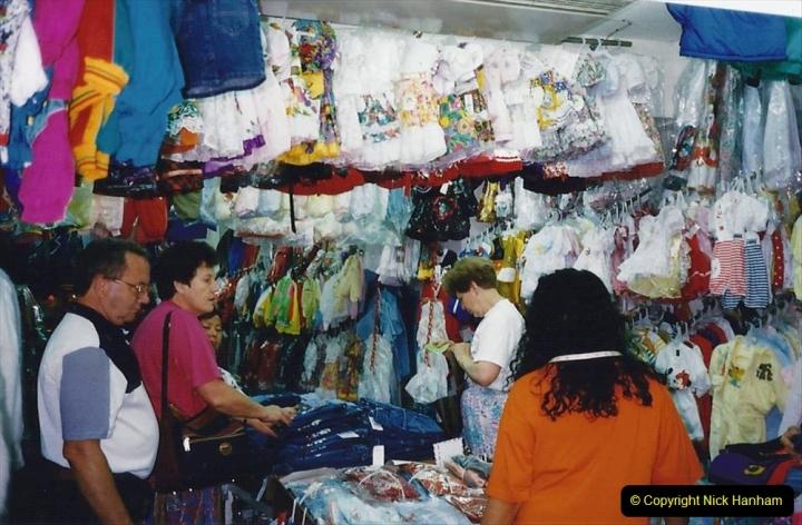 China 1993 April China into Hong Kong. (164) Hong Kong. 164