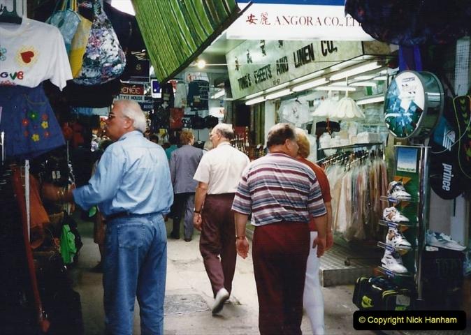 China 1993 April China into Hong Kong. (165) Hong Kong. 165