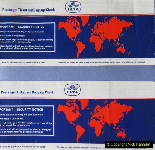 China 1993 April China into Hong Kong. (180)  Hong Kong to London. 180
