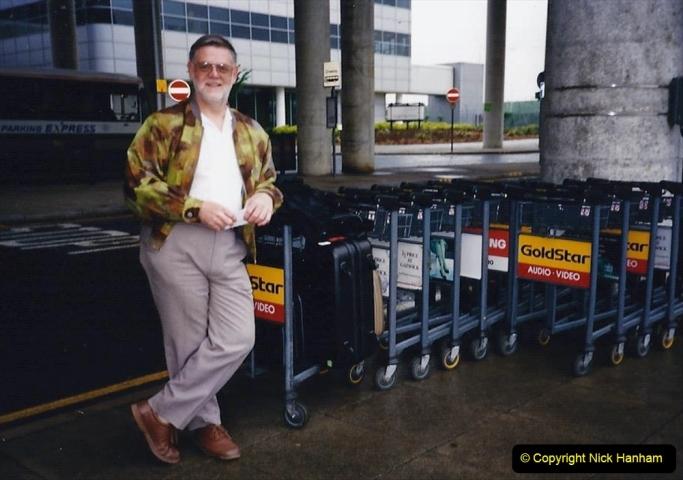 China 1993 April China into Hong Kong. (181) Back in London. 181