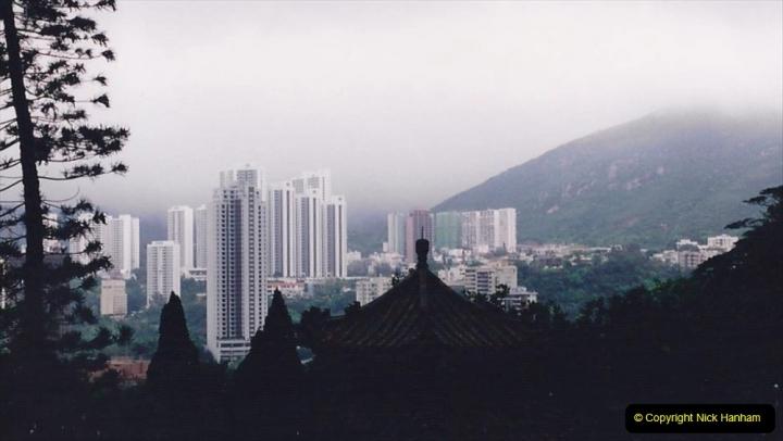 China 1993 April China into Hong Kong. (22) Happy Valley. 023
