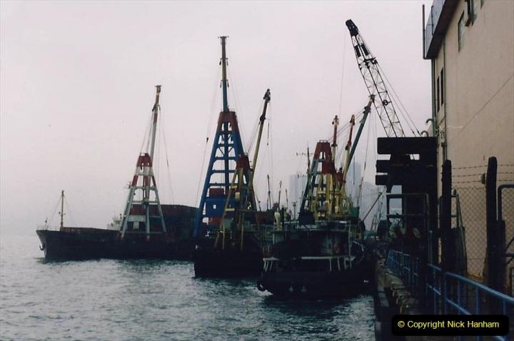 China 1993 April China into Hong Kong. (59) Hong Kong. 059