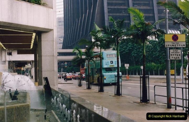 China 1993 April China into Hong Kong. (61) Hong Kong. 061