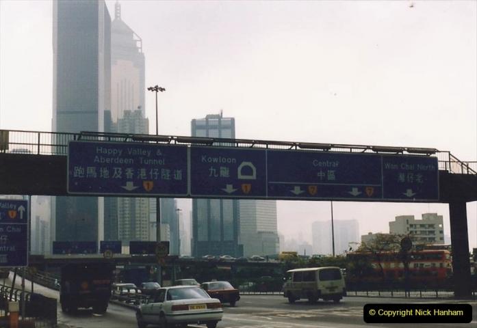 China 1993 April China into Hong Kong. (65) Hong Kong. 065