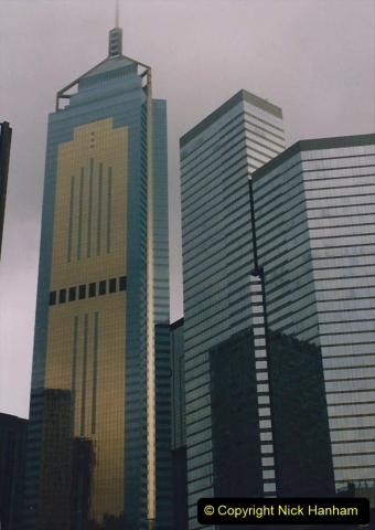 China 1993 April China into Hong Kong. (70) Hong Kong. 070