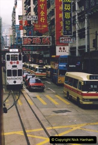 China 1993 April China into Hong Kong. (74) Hong Kong. 074