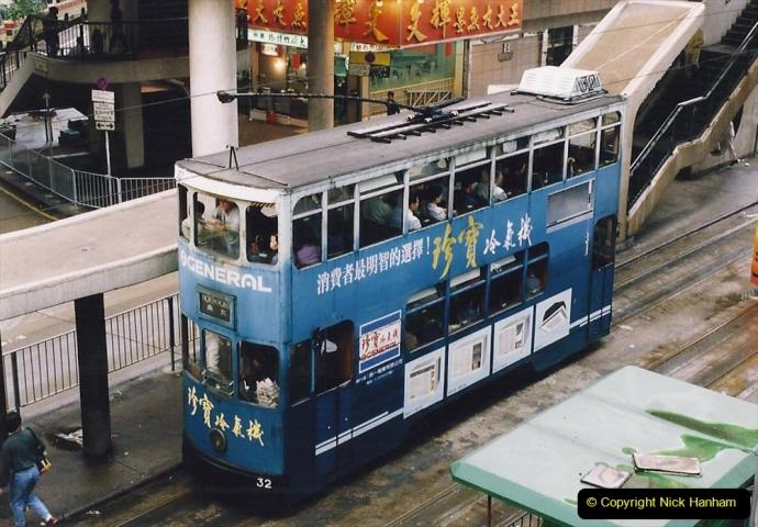 China 1993 April China into Hong Kong. (77) Hong Kong. 077