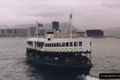 China 1993 April China into Hong Kong. (104) Star Ferry.104