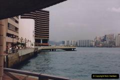China 1993 April China into Hong Kong. (109) A clearer day from Kawloon. 109