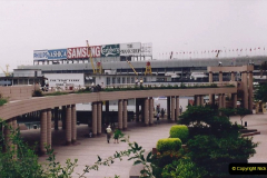 China 1993 April China into Hong Kong. (111) A clearer day from Kawloon. 111