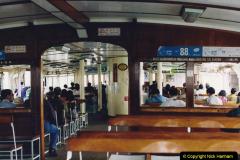 China 1993 April China into Hong Kong. (114) On the Star Ferry. 114