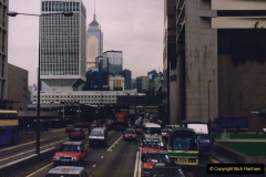 China 1993 April China into Hong Kong. (118) Hong Kong. 118