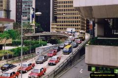 China 1993 April China into Hong Kong. (119) Hong Kong. 119
