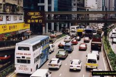 China 1993 April China into Hong Kong. (122) Hong Kong. 122
