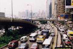 China 1993 April China into Hong Kong. (123) Hong Kong. 123